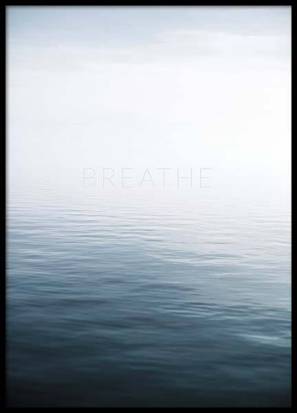 Breathe by the Sea Poster en el grupo  Pósters / Naturaleza con Desenio AB (10491)