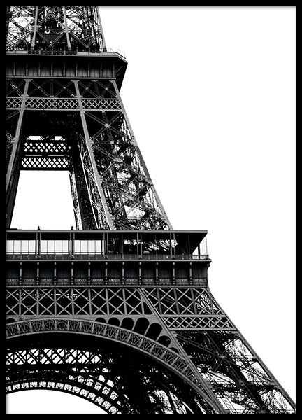 Eiffel Tower Close Up Poster en el grupo Studio Collections / Studio Cosmopolitan con Desenio AB (11330)