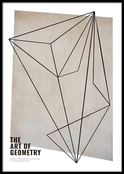 The Art of Geometry Poster en el grupo  Pósters / Arte con Desenio AB (14796)