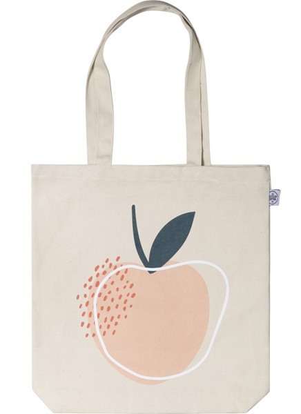 Life is Peachy Tote Bag en el grupo Limited edition con Desenio AB (TOTE50147)