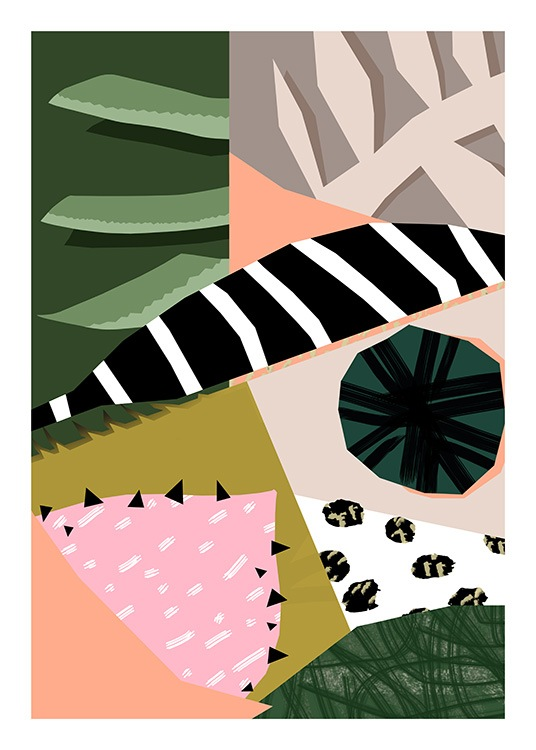 Abstract Garden No6 Poster / Arte con Desenio AB (10942)