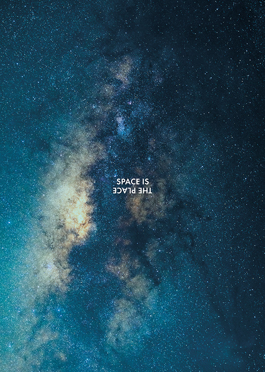 Space is the Place Poster / Naturaleza con Desenio AB (11169)