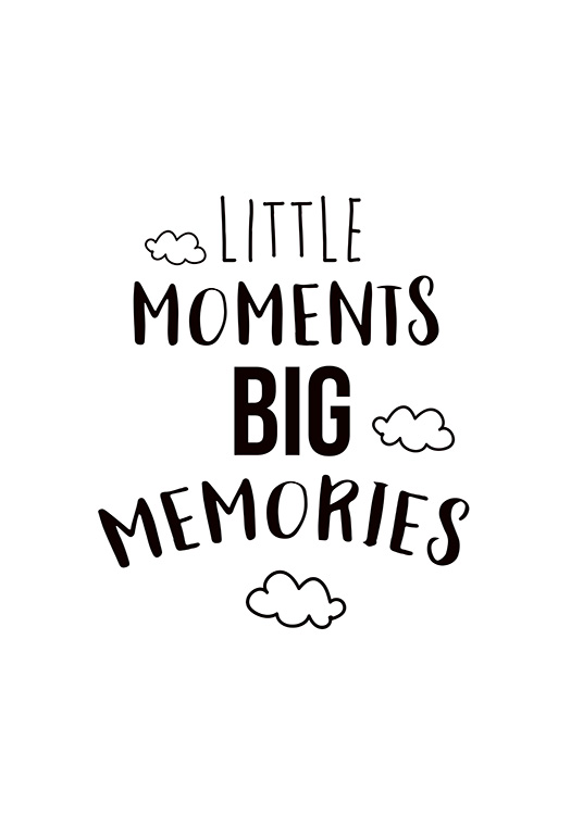 Little Moments Poster / Pósters infantiles con Desenio AB (11442)